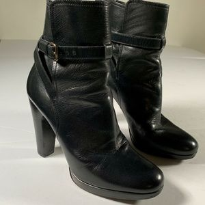 Miu Miu Heels Booties Leather size 39.5 EU 9.5 US